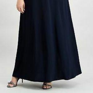 Alex Evenings Dresses - ALEX EVENINGS Womens Navy Embellished Sequined Emp